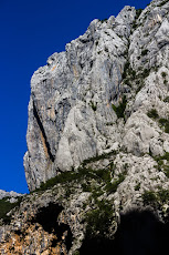 Big walls in Paklenica