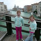 Girls on the bridge near Acadamea.