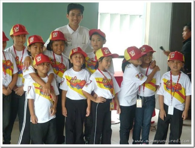 graduating kiddie crew