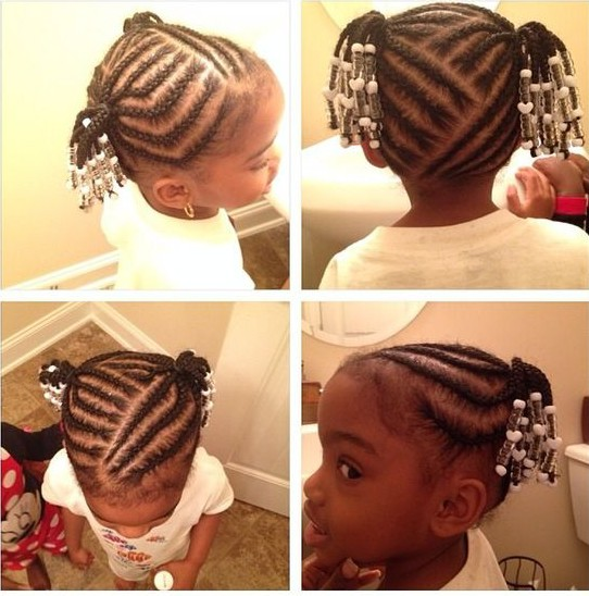 2018 Black Girls Braided Hairstyles - Little Black Girls Hairstyles 1