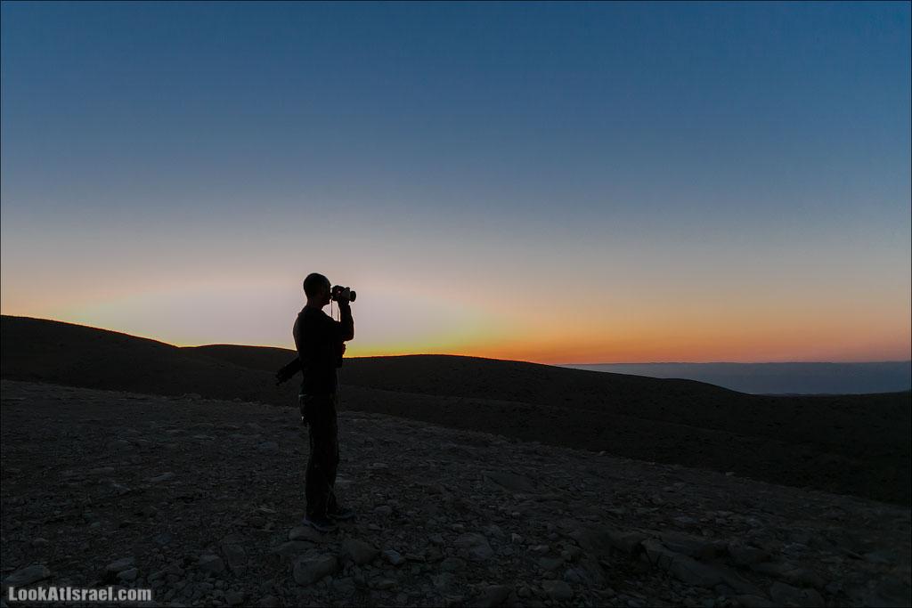Ночная пустыня и Мар Саба на рассвете | LookAtIsrael.com - Фотографии Израиля и не только...
