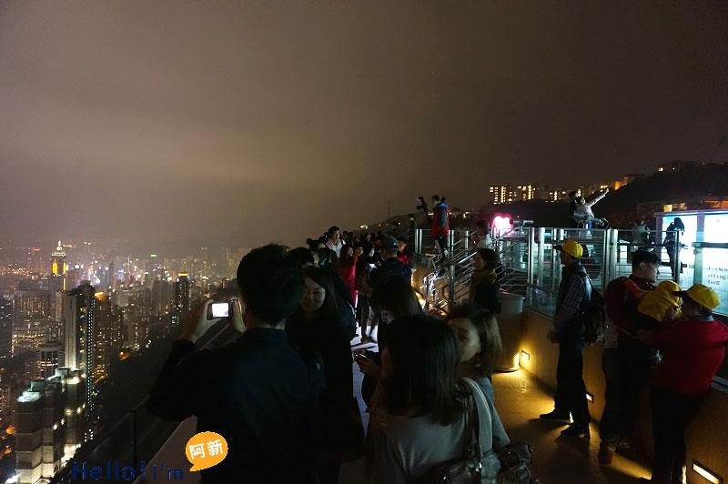 香港夜景,太平山夜景,凌霄閣摩天台428-1