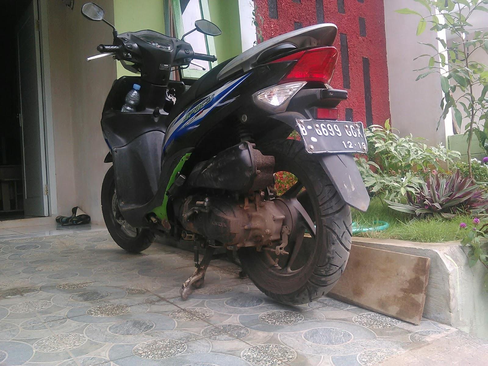 Modifikasi Kecil Honda Spacy Agar Tidak Mentok Polisi Tidur