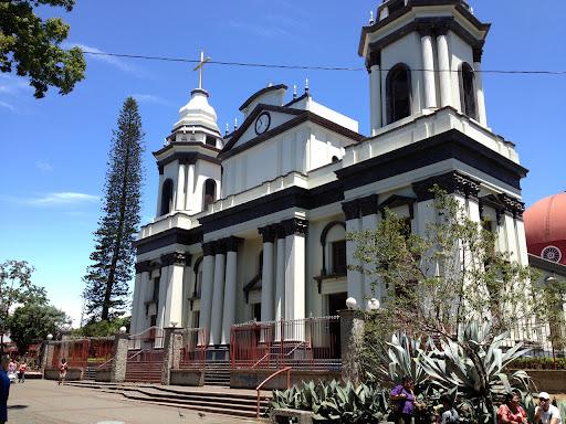 Beautiful Church in Alajuela Town Center