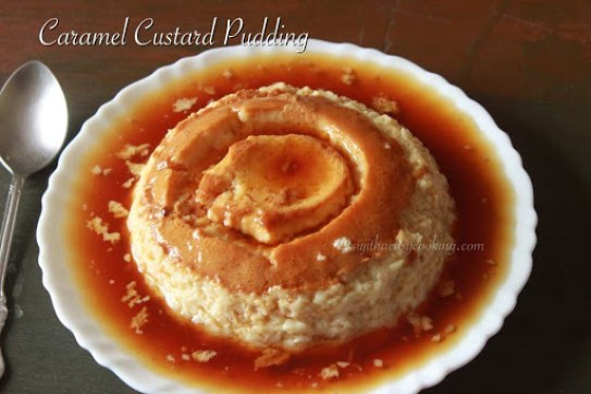 Caramel Custard Pudding1