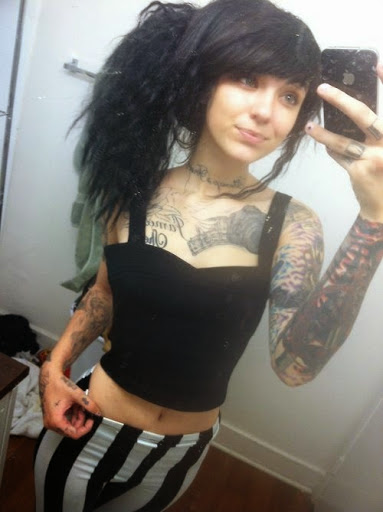 Girl With Tattoos