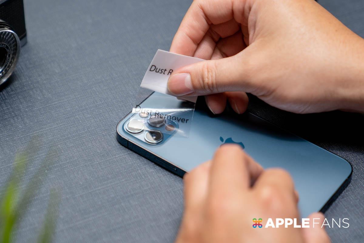 iPhone 12 Pro 鏡頭貼 Simmpo 鏡頭貼  除塵