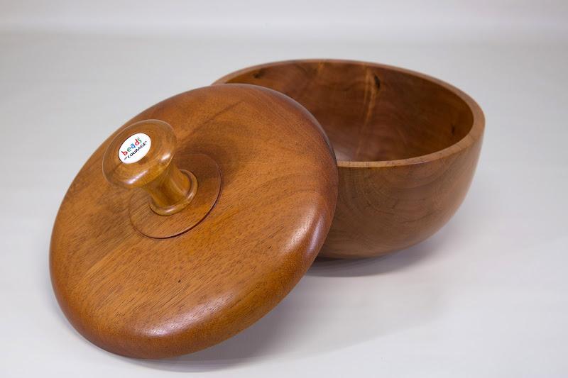 "Gary Guenther 7 1/4"" x 5 1/2"" BoC box [cherry, Honduras mahogany, bead]"