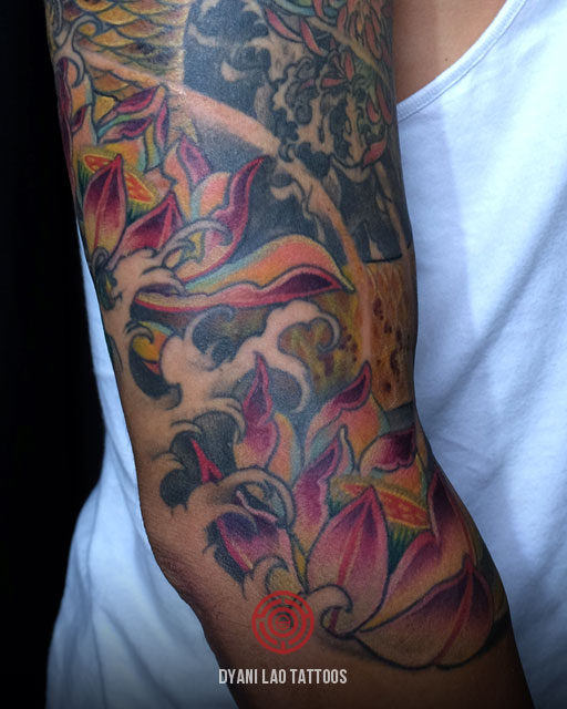 KOI FISH - Dyani Lao Tattoos and Art