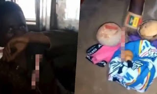 ekiti state university, eksu, video of eksu student trying to use his roommate for money ritual,