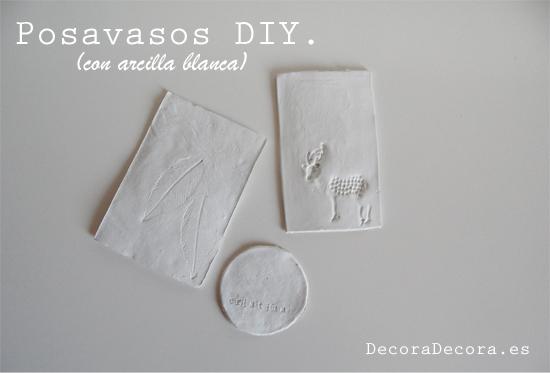 Posavasos DIY.