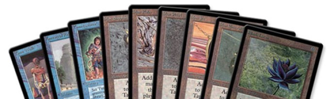 As Power Nine do Magic the Gathering