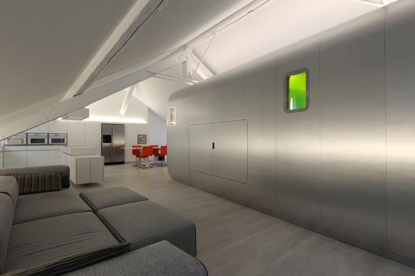 *比利時Liège的時空閣樓:Daniel Dethier柔美的衝突設計! 8