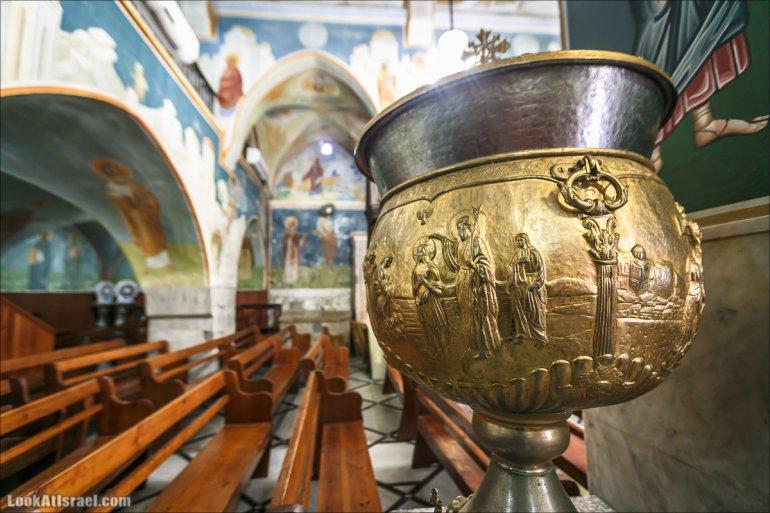 Назарет, Церковь Архангела Гавриила (церковь Благовещения) | Nazareth, Church of the Annunciation | LookAtIsrael.com - Фото путешествия по Израилю