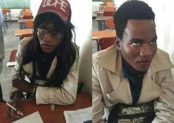 Photos: Man disguises as Woman to write O'level Exam for girlfriend