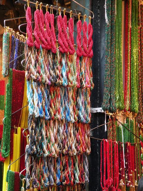 Local style: Nepali glass beads jewelry