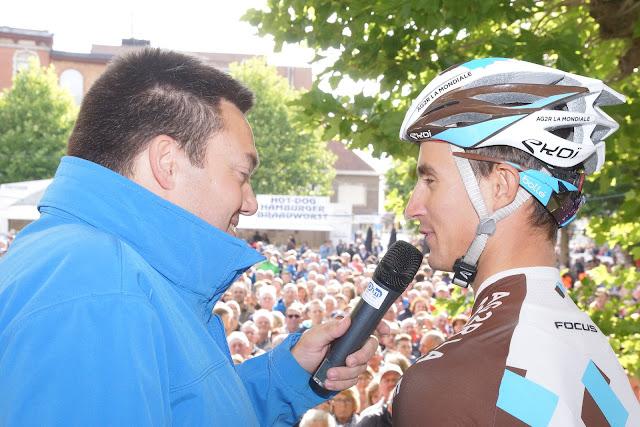 Alexis Vuillermoz bij Niko De Muyter