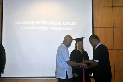 Glaiza Cruz, Leadership Awardee