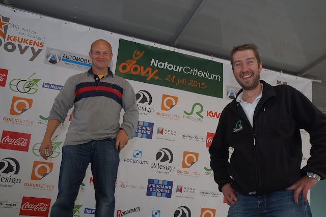 Lorenzo Gevaert en Derry Hannon