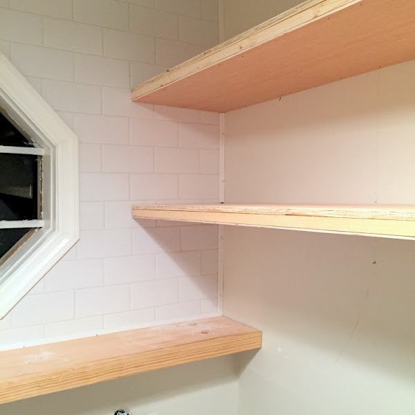 thin floating shelves