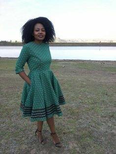 Latest Lesotho ShweShwe Designs (2018)