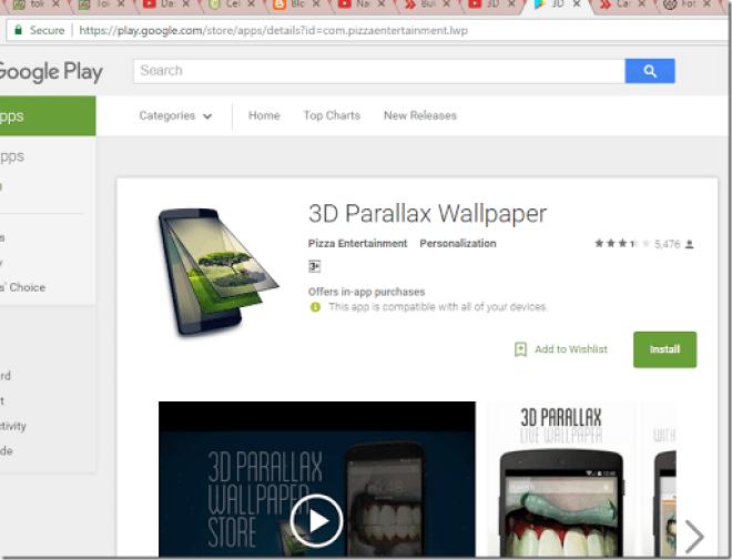 cara membuat wallpaper 3D di hp android