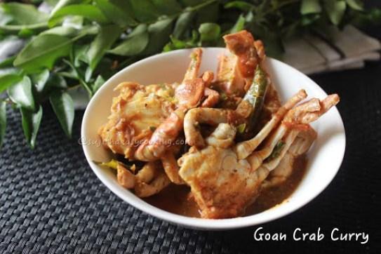 Goan crab curry 3