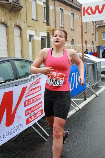 3e dame in de jogging van de krottegemse corrida