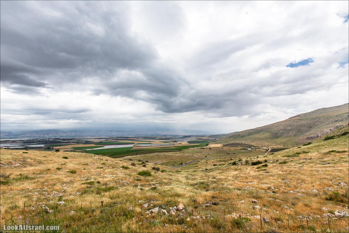 Умопомрачительные пейзажи с горы Гильбоа | Mt Gilboa | LookAtIsrael.com - Фото путешествия по Израилю