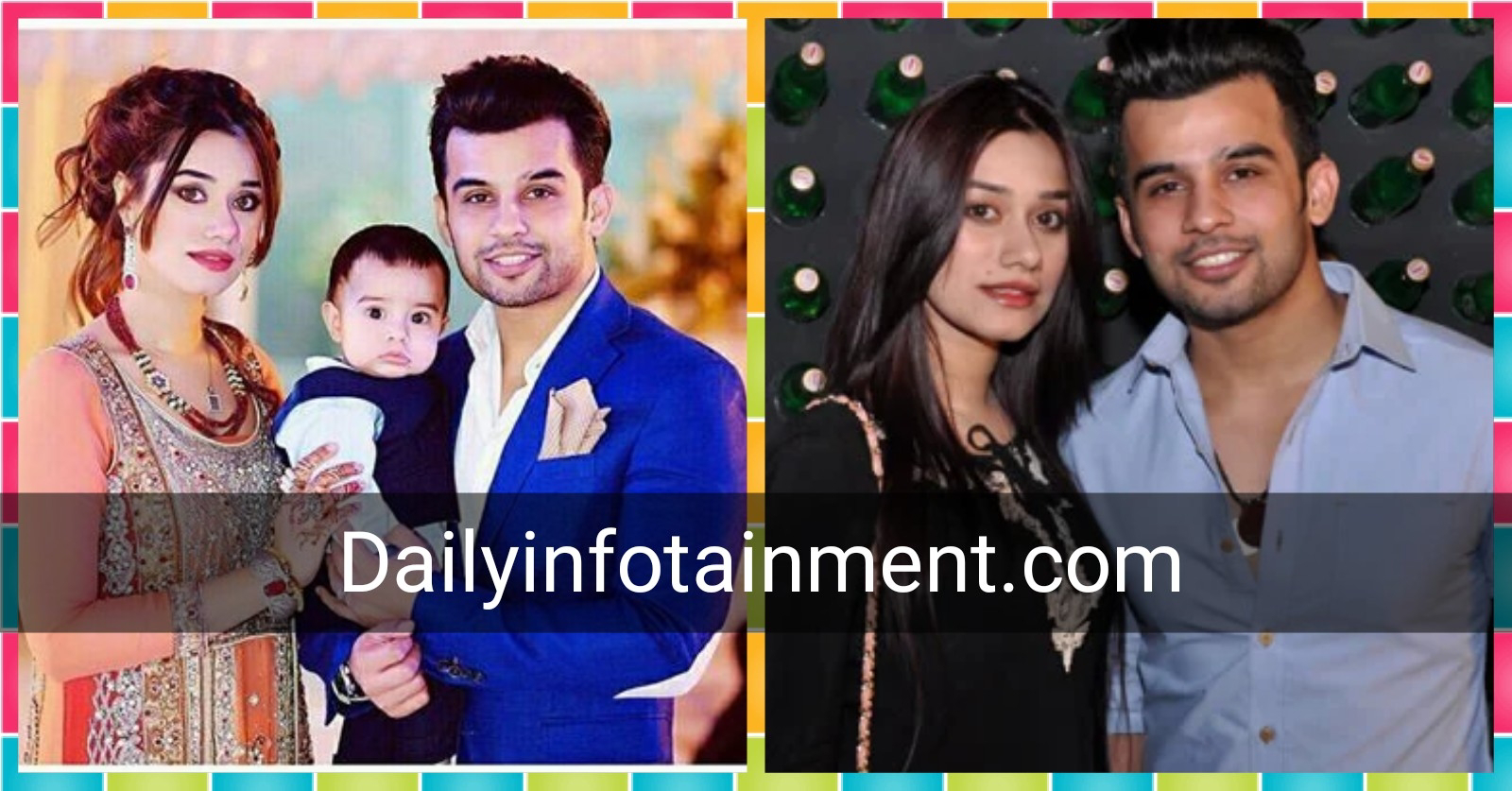 Do you know who Fahad Sheikh's real wife is and what she does?  See beautiful photos with his family