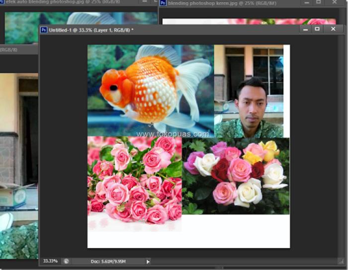 trik membuat efek blending mode photoshop