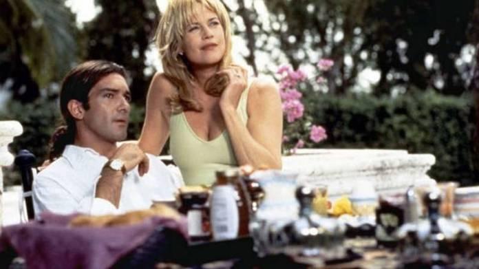 """Antonio conoció a Melanie Griffith en la película """"Two much"""""""