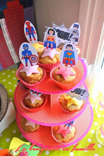 anniversaire super heros fille - Gateau Anniversaire Super Heros