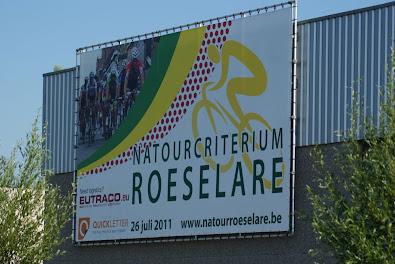 Affiche natourcriterium Roeselare aan Eutraco