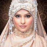 trendy hijab styles for weddings 2016