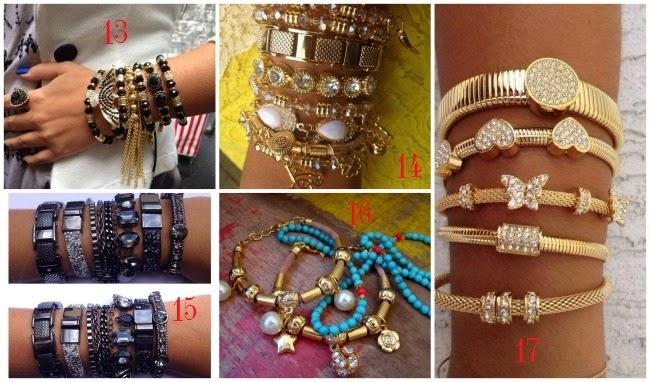 pulseiras bijouterias boho chic onde comprar barato
