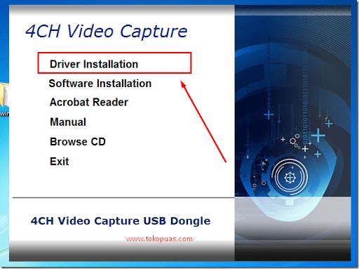 cara install easy cap cctv dvr