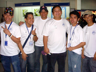 From Left; Moises, Adrian, Sir Jojo, Sir Ervin, Ariel and Marlon