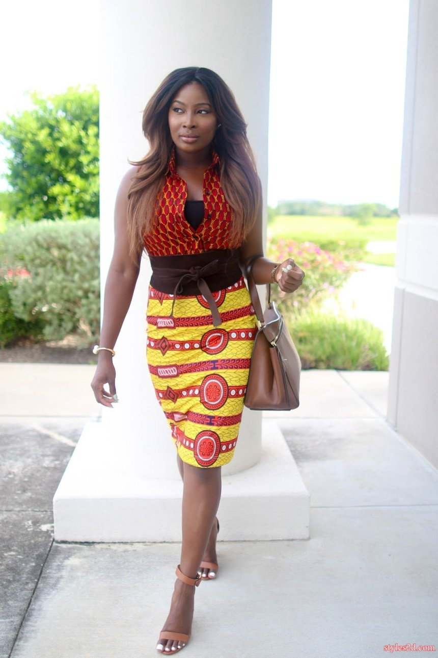 Ankara African evening gowns trends Pictures - Styles 2d