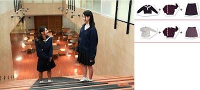遊学館高等学校の女子の制服6