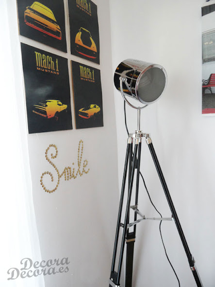 Lámpara de cine.