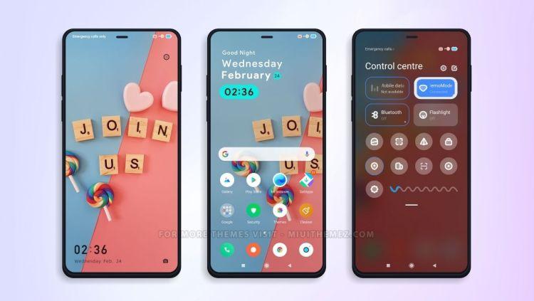 [HERUNTERLADEN] :  Süßigkeiten MIUI Theme    Schönes und sauberes Thema für Xiaomi-Telefone