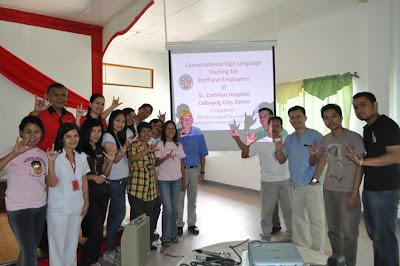 Participants with Fr. Luigi Galvani, St. Camillus Founder