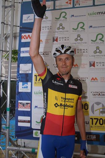 Belgisch Kampioen wielrennen Preben Van Hecke