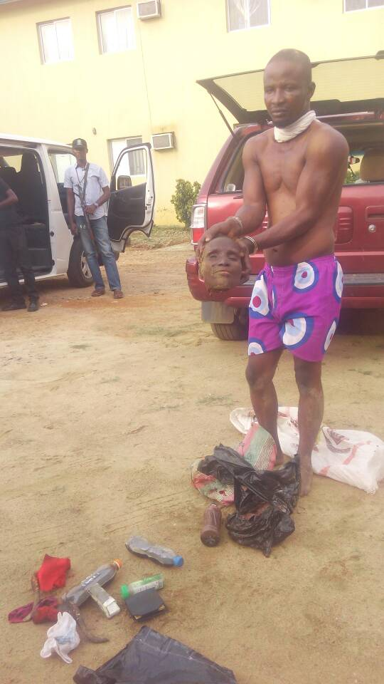 I Planned To Use It For Rituals After Ramadan – Alfa Caught With Human Head In Osogbo