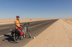 Long empty roads in the desert