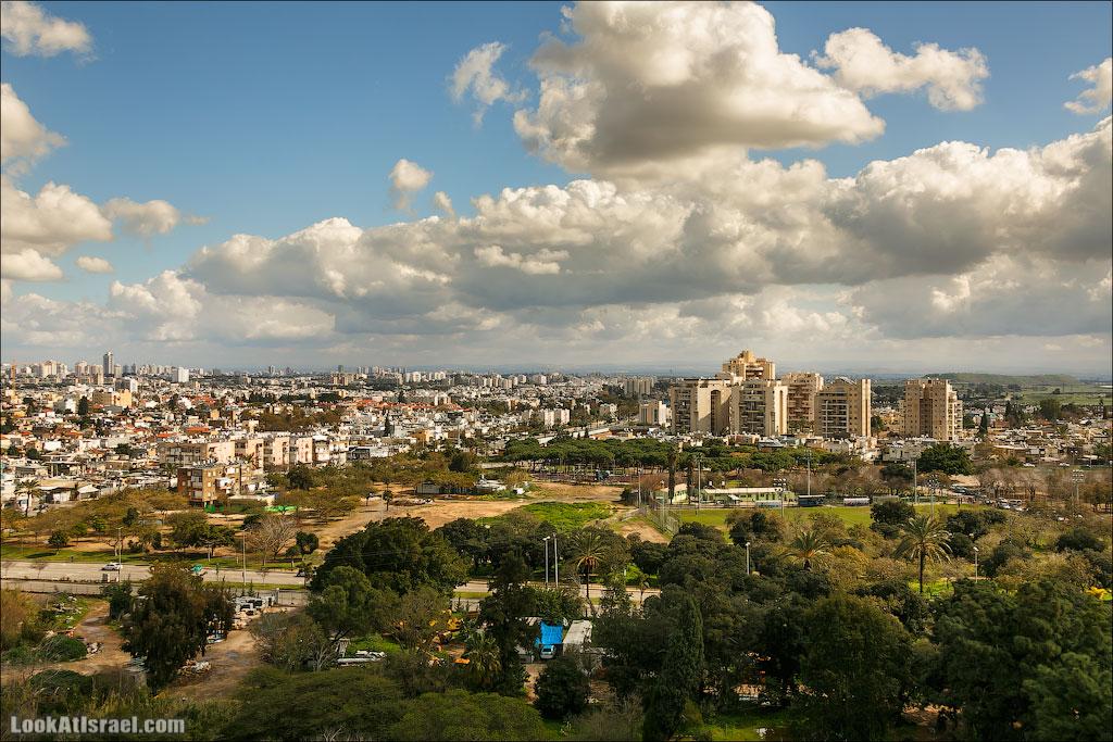 Самый необычный вид на Тель Авив   LookAtIsrael.com - Фотографии Израиля и не только...