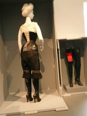 LACMA Fashioning Fashion exhibit undergarment
