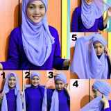 Simple Styles of Wearing Hijab 2016 2017