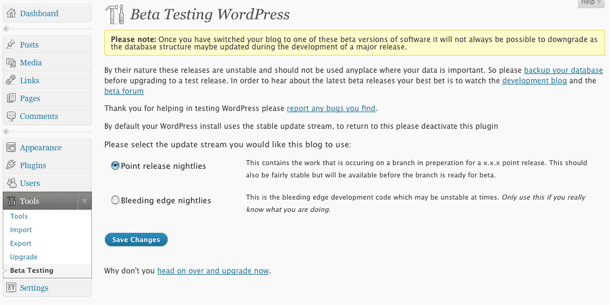 WordPress 3.6 RC1